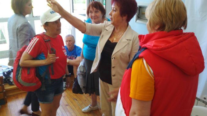 2018 год: Спартакиада пенсионеров