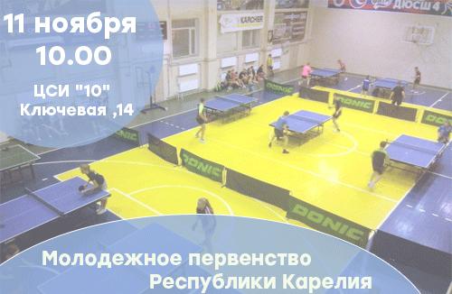 Молодежное первенство Республики Карелия