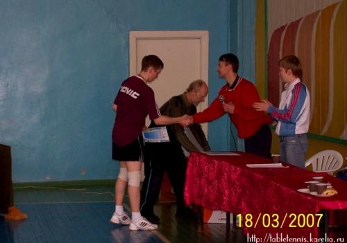 2007 год: Турнир в Сегеже