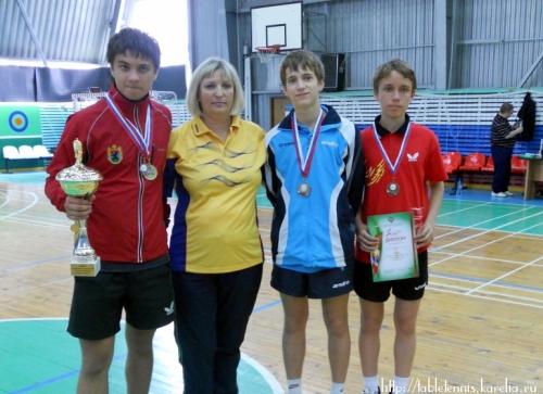 2011 год: Спартакиада СЗФО школьников