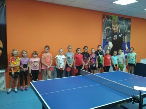 2018 год: Первенство Петрозаводска по настольному теннису. Осень