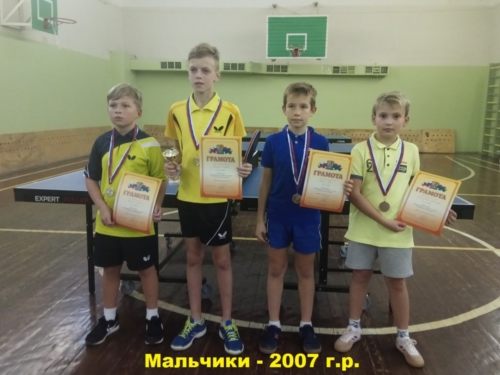 2018 Первенство ДЮСШ осеньЮноши 2007г.р.