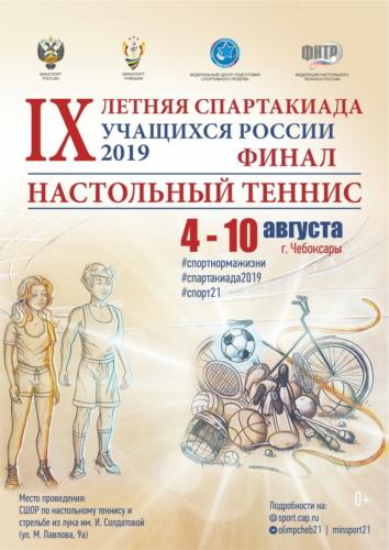 2019 год: IX Летняя Спартакиада учащихся